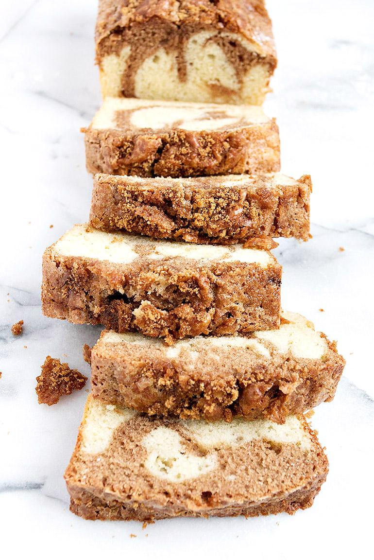 Cinnamon Swirl Pound Cake Loaf