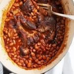 Oven Or Slow Cooker Pork And Beans Seasons And Suppers