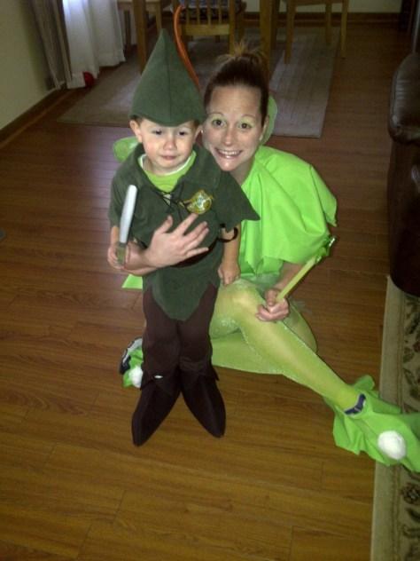 Mason and Aubrey, Halloween 2010