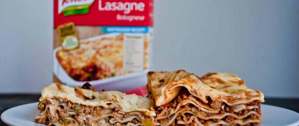 vers(us) pakje: knorr lasagne - season with love