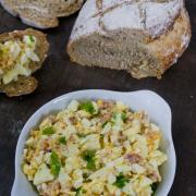 bacon eiersalade