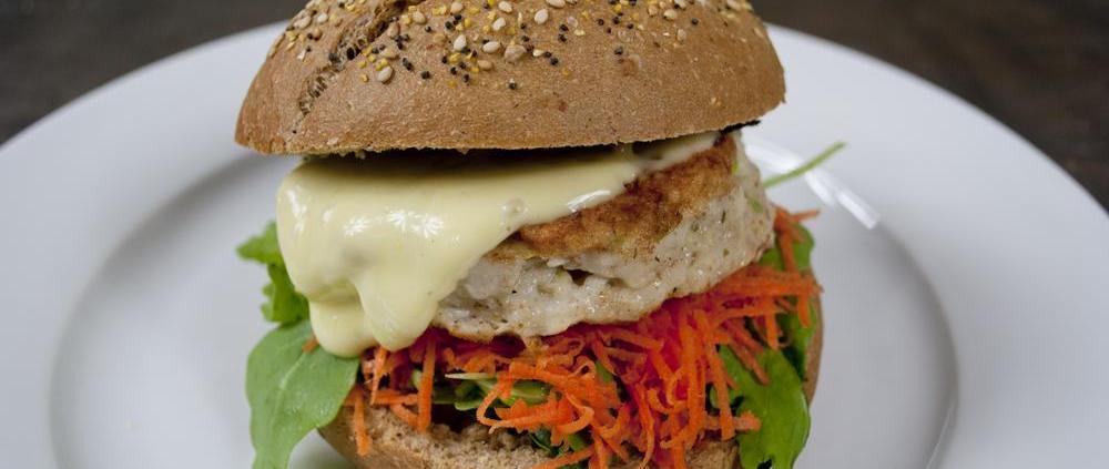 visburger wasabi mayonaise