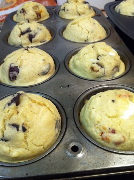 Kalamata Olive and Sun Dried Tomato Muffins (A Seat at the Table)