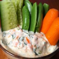 Veggie Greek Yogurt Dip