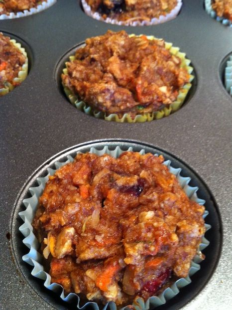 Paleo Morning Glory Muffins (A Seat at the Table)