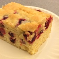 Cranberry Buttermilk Cake