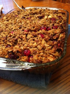 Cranberry Apple and Pecan Baked Oatmeal (A Seat at the Table)