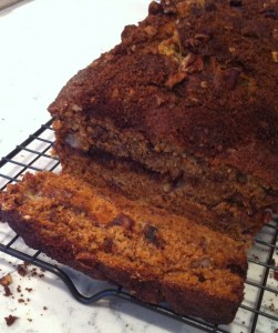 Brown Sugar-Pecan Swirl Banana Bread (A Seat at the Table)