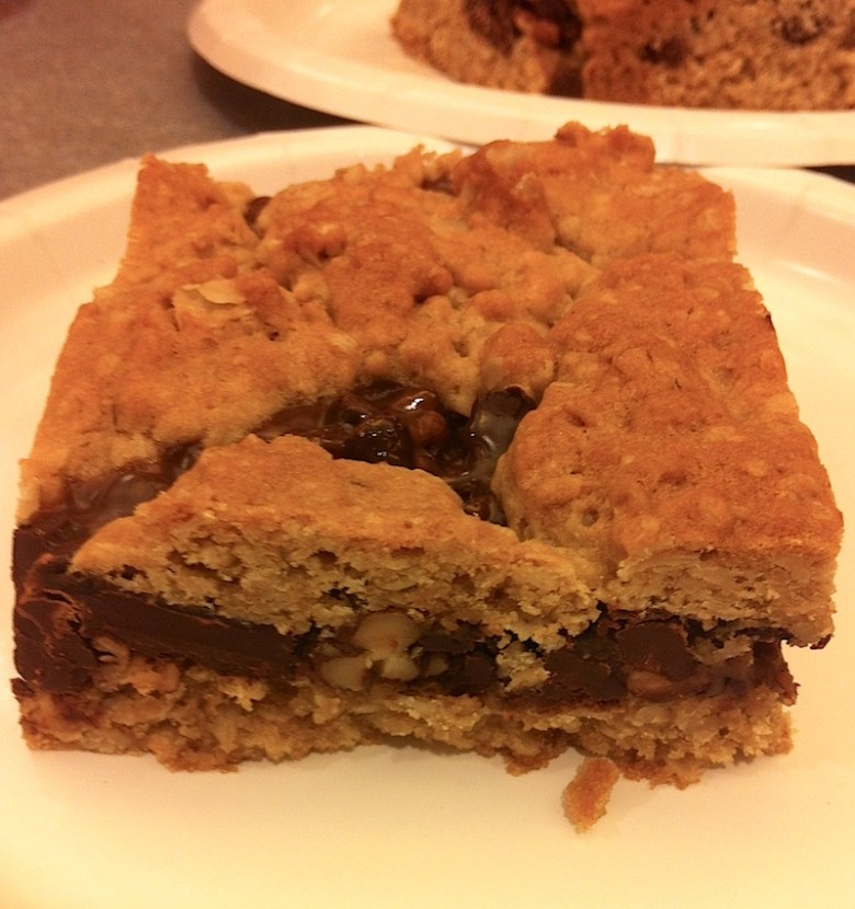 Chocolate Pecan Carmelitas (A Seat at the Table)
