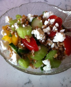 Veggie Wheat Berry Salad (A Seat at the Table)