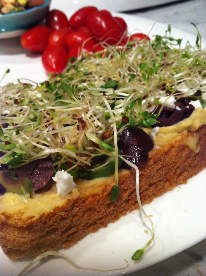Feta Hummus Sandwich (A Seat at the Table)