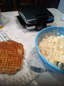 Making Banana Cinnamon Waffles (A Seat at the Table)