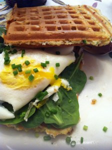 Waffle Egg Sandwich (A Seat at the Table)