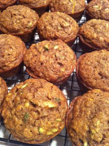 Cinnamon Zucchini Muffins (A Seat at the Table)