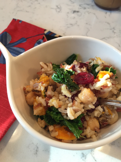 Harvest Wild Rice Salad (A Seat at the Table)