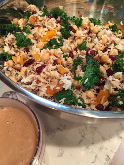Harvest Wild Rice Salad with Apple Vinaigrette (A Seat at the Table)