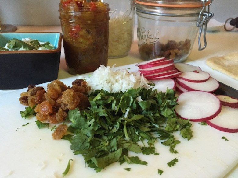 Indian Curry Condiments (A Seat at the Table)