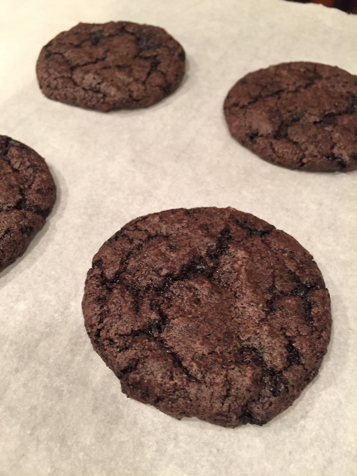 Midnight Chocolate Cookies (A Seat at the Table)