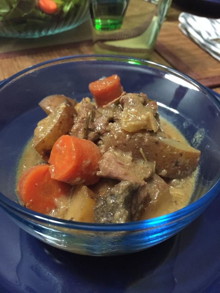 Slow Cooker Rosemary Beef Stew (A Seat at the Table)