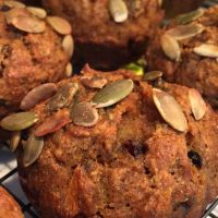 Spiced Pumpkin Carrot Muffins