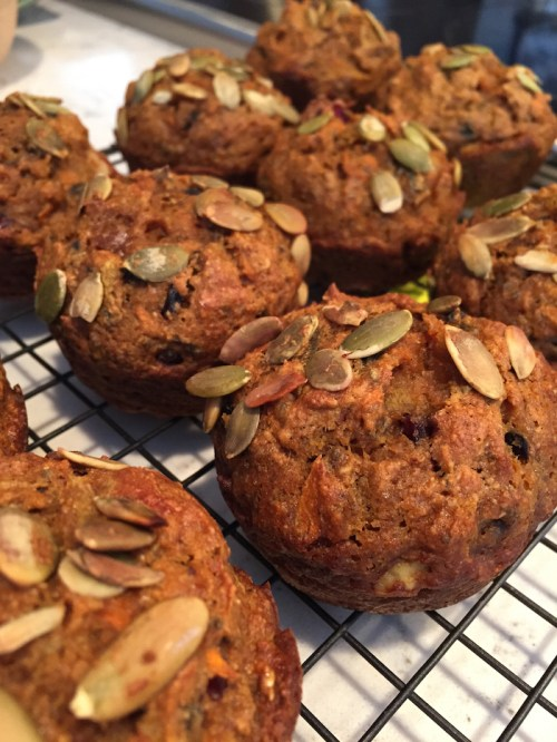 Spiced Pumpkin Carrot Muffins (A Seat at the Table)