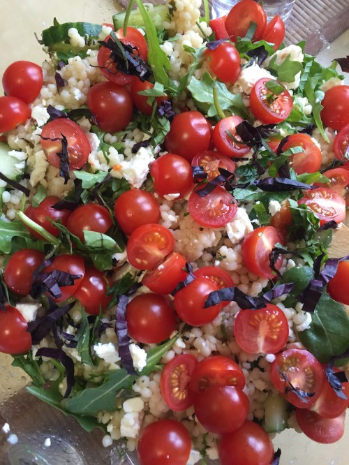 Herb and Orzo Salad (A Seat at the Table)