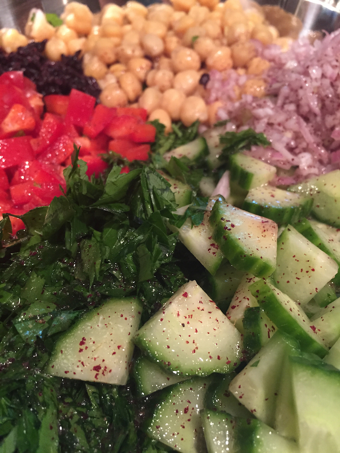 Black Rice Not Tabbouleh Salad (A Seat at the Table)