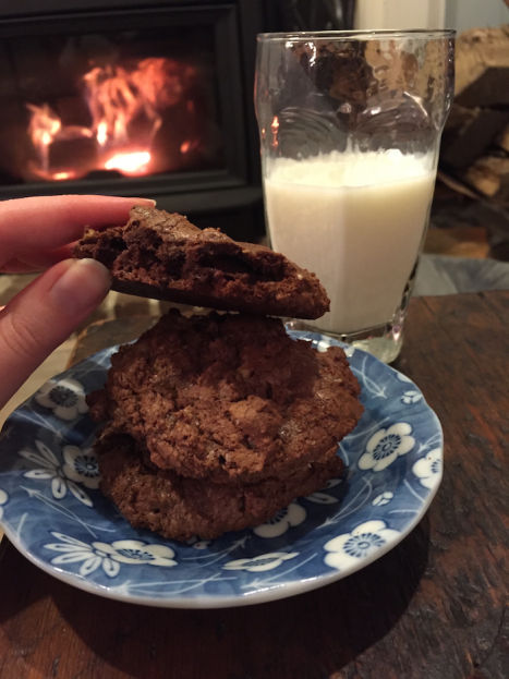 Chocolate Toffee Cookies (A Seat at the Table)