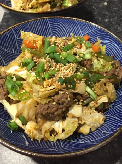 Beef and Cabbage Stir-Fry (A Seat at the Table)