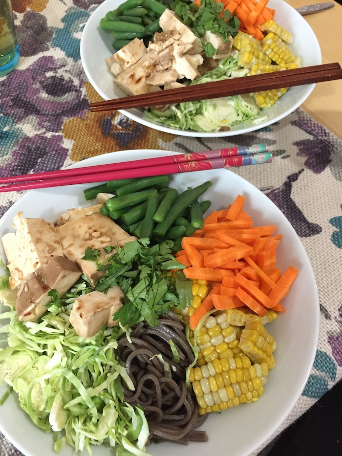Soba Bowls with Tofu (A Seat at the Table)