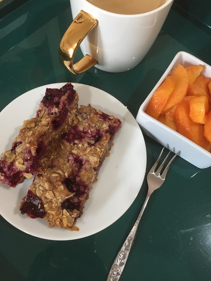 Blackberry Breakfast Bars (A Seat at the Table)