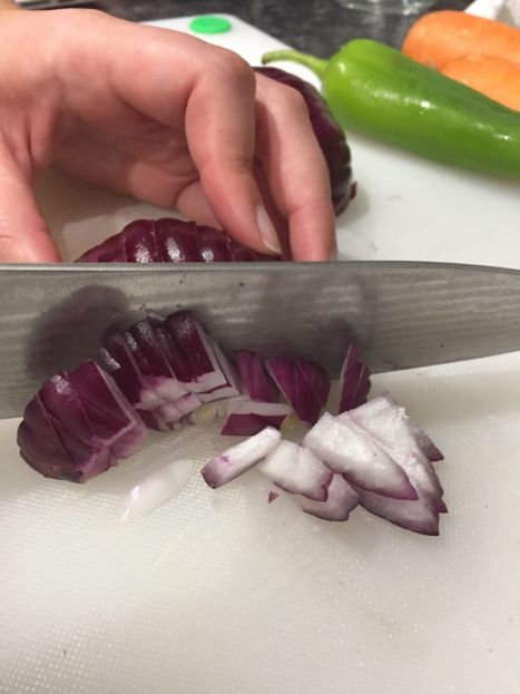 How to Chop an Onion (A Seat at the Table)