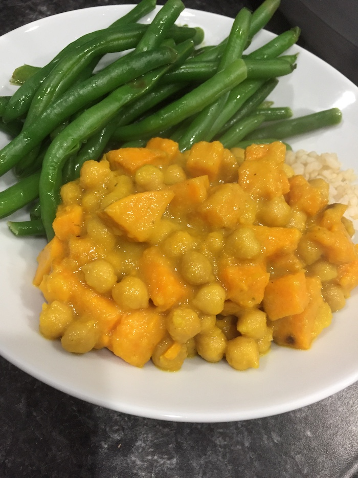 Chickpea and Sweet Potato Curry (A Seat at the Table)
