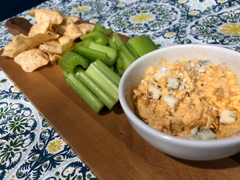 Buffalo Chicken Dip (A Seat at the Table)