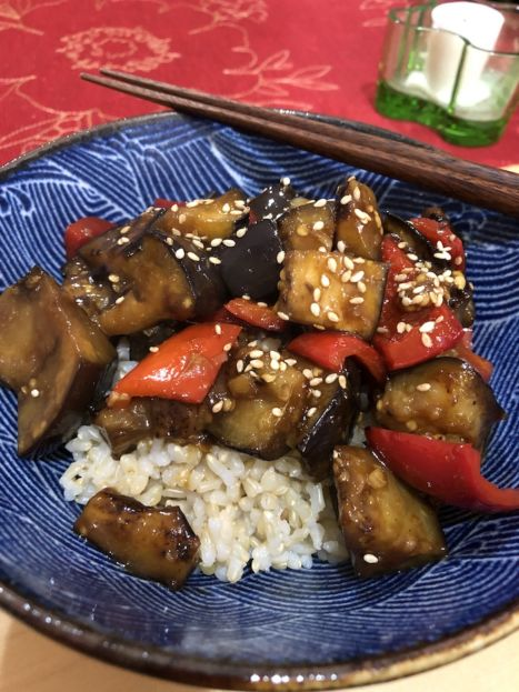 Asian Eggplant Stir-Fry (A Seat at the Table)