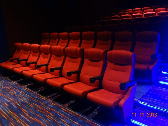 High Back Movie Theatre Seating Chairs Genuine Leather Cinema Seats Sofa