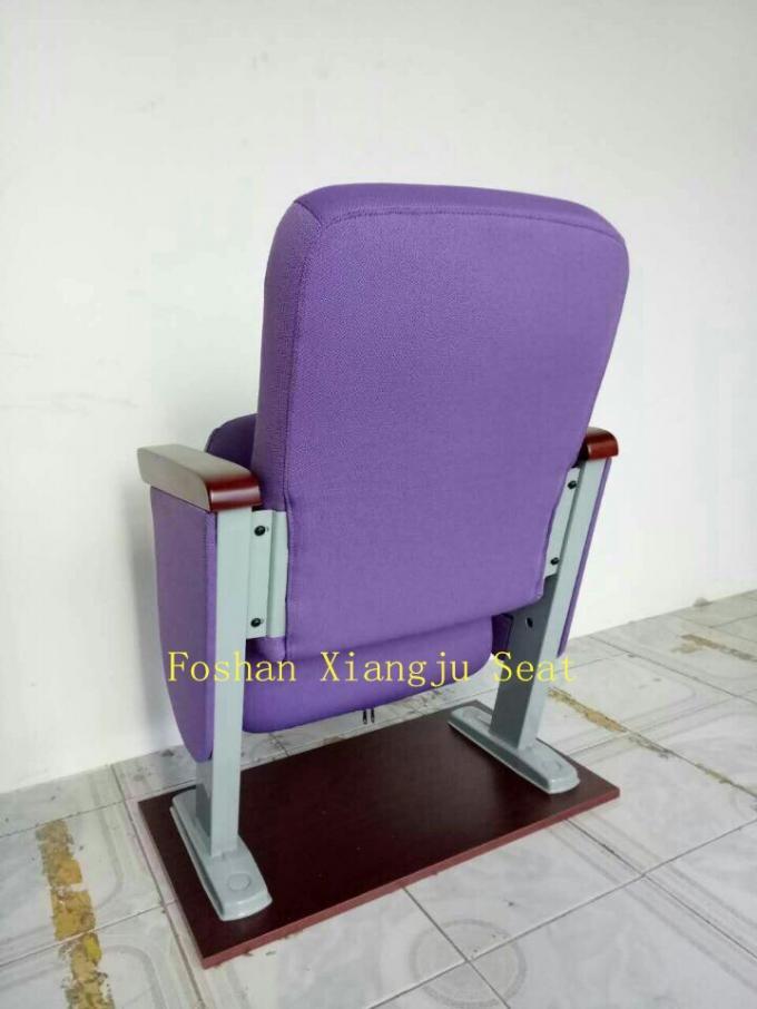 low back chairs for concerts bean bag chair singapore aluminium leg wooden armrest theatre seat 560mm width auditorium prayer xj 125a