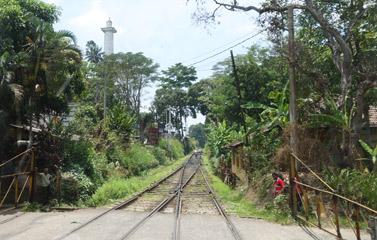 Dawson Tower approaching Kadugannawa