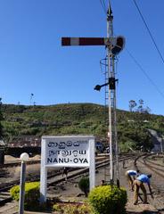Signal at Nanuoya station