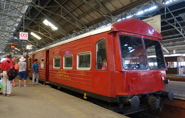 1st class observation car at Colombo Fort