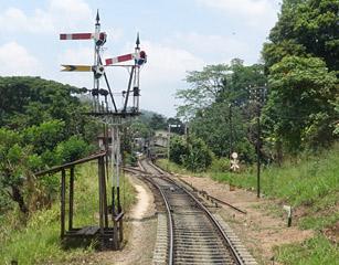 Signals at Peradeniya Junction