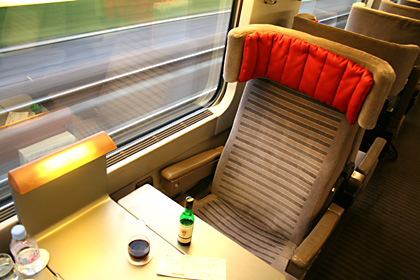 Europe train travel