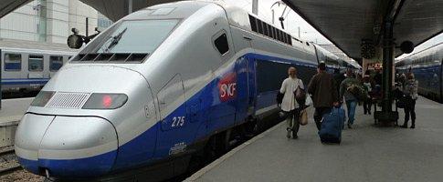 TGV Duplex at Paris Gare de Lyon