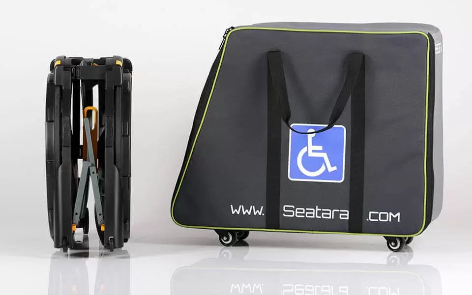 WheelAble Carrying Case for Wheelchair  by Seatara