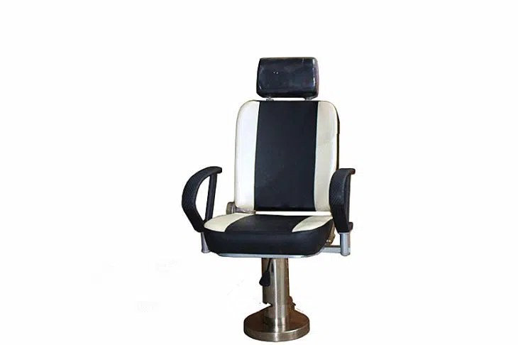boat captain chairs gym equipment captains chair marine ship operater driver seat with adjustment legrest swivel rotating base
