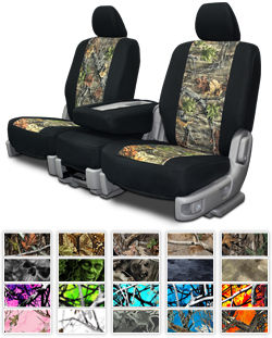 cover chair seat car faux fur saucer quality custom auto covers from unlimited neo camo