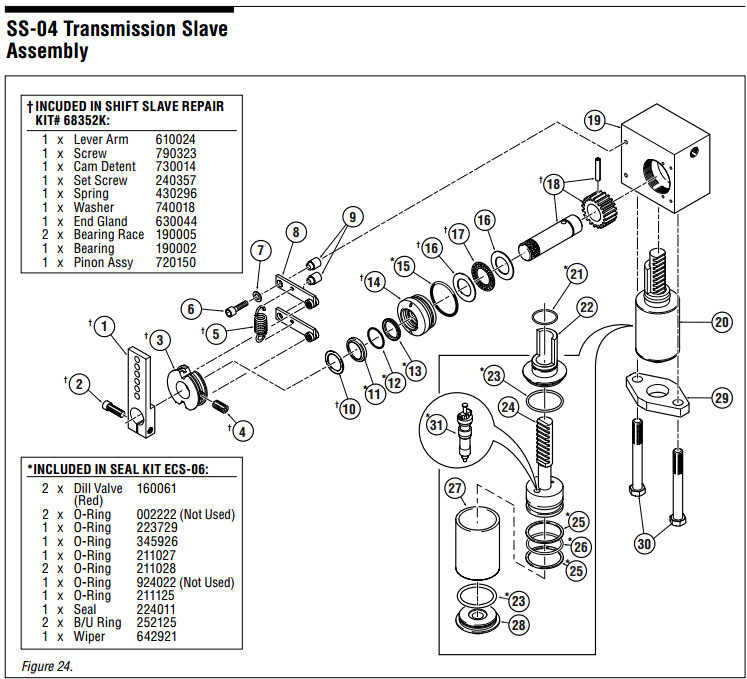 seastar hydraulic steering parts diagram furnace wire hynautic ss-04 | send us your shifter slave rebuild