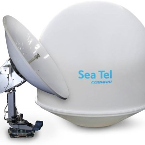 Sea Tel 5004 UA Satellite TV