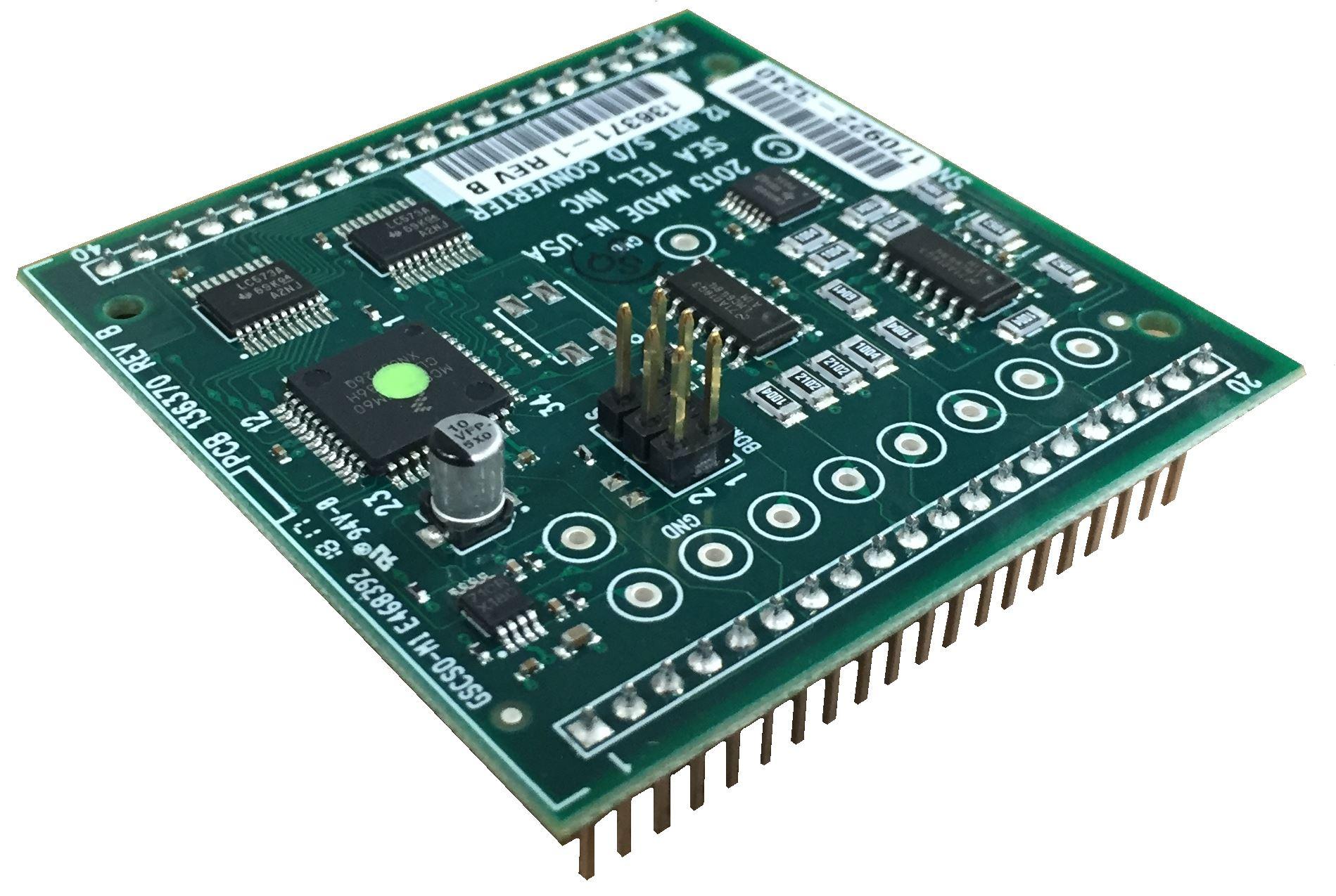 PCB ASSY, 12 BIT S/D Converter 9S08