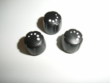 Dim Knob ø15x14.5mm w.dots